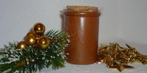 Weihnachts Senf altdeutsch 100ml Moutarde de Montjoie