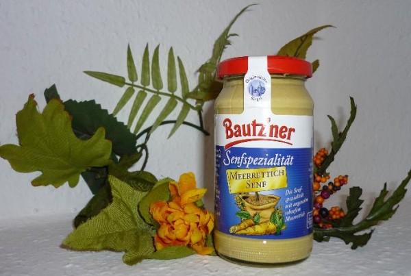 Bautzner Senf Meerrettich 200ml vegan