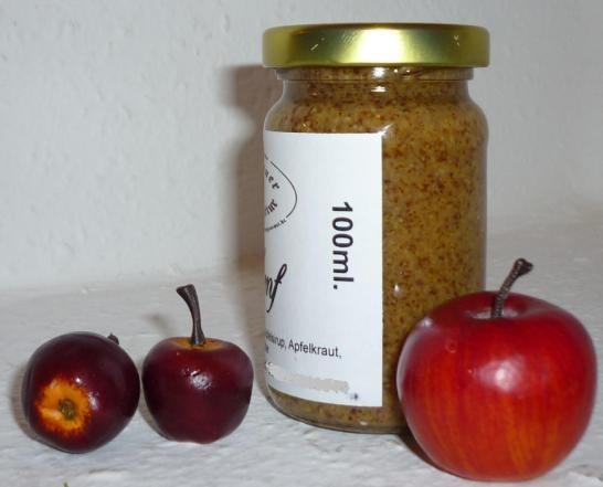 Apfel Senf grob süß 100ml