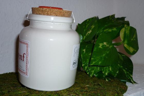 Bio Senf mit grünem Urwaldpfeffer 250ml Porzellantopf
