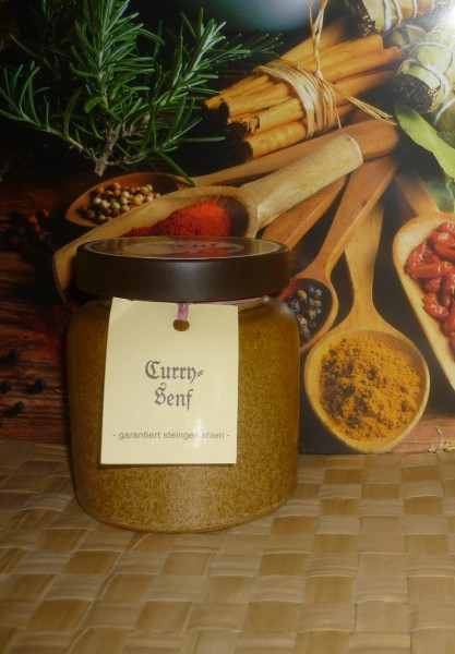 Curry Senf 270ml Thüringen