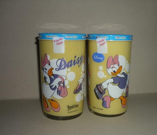 Bautzner KinderSenf Daisy Duck Sammelglas Walt Disney