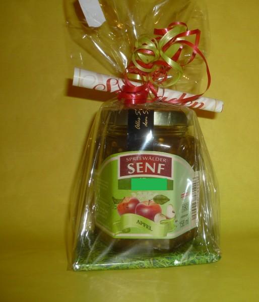 Apfel Spreewald Senf grob Geschenkverpackung