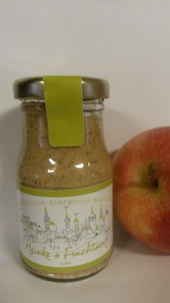 HammerMühle Bautzen Apfel-Senf - halbgrob 100 ml