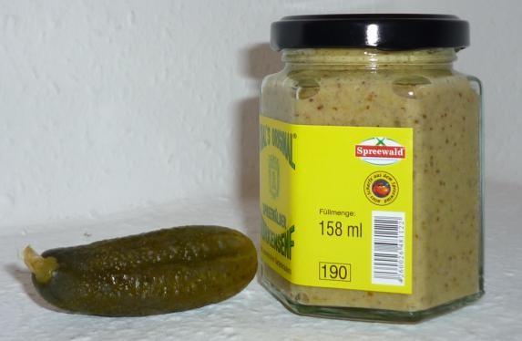 Gewürz Gurken Spreewald Senf 170ml