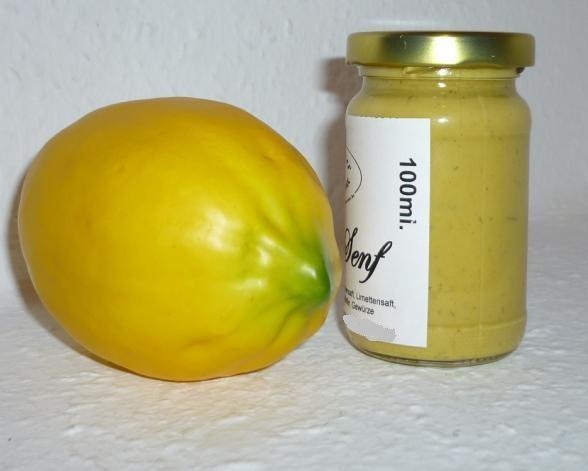 Zitronen Senf 100ml