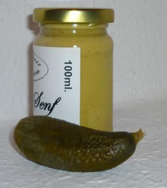 Gurken Senf 100ml ( Gewürzgurken )
