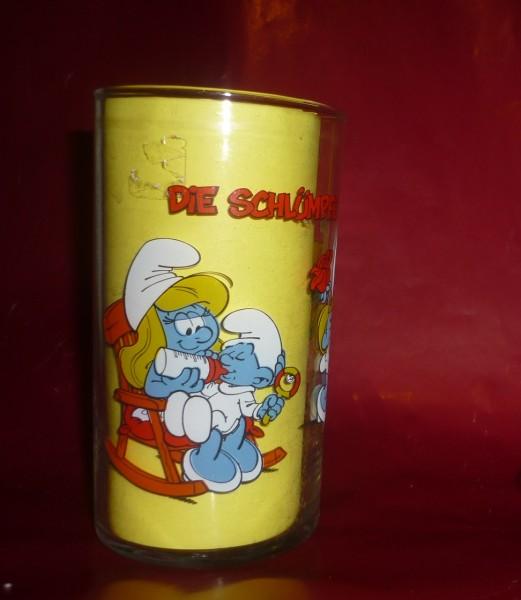 Die Schlümpfe -Schlumpfine Schmetterling + Baby Sammelglas