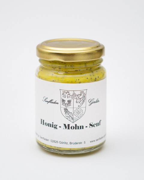Honig Mohn Senf mild pikant 100ml
