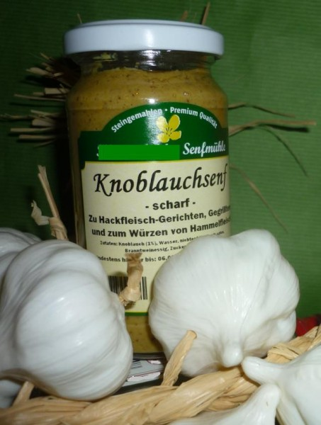 Knoblauch Senf 190ml vegan