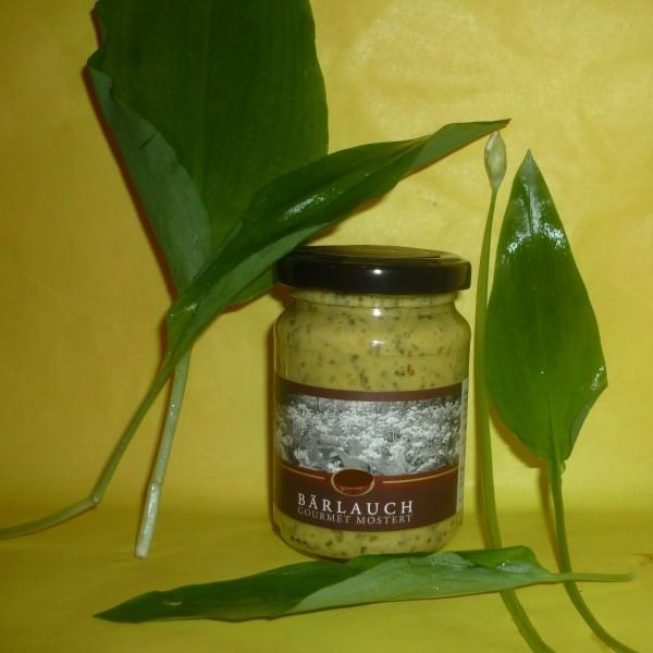 Bärlauch Gourmet Mostert Senf 145 ml