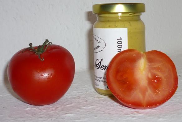 Tomaten Basilikum Senf 100ml