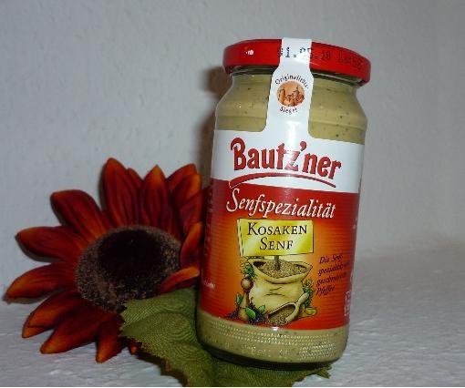 Bautzner Senf Kosaken 200ml vegan