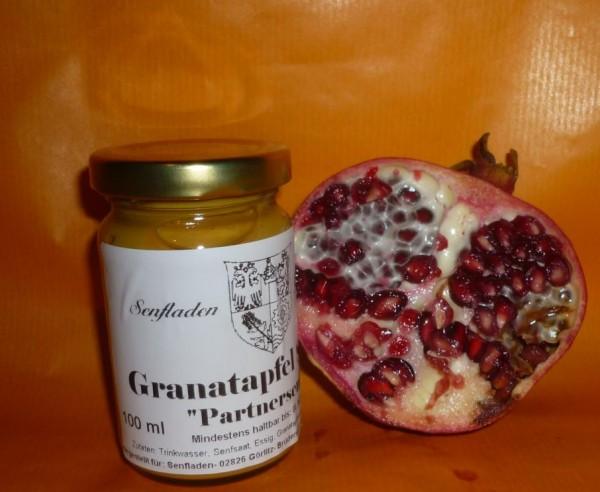 Granatapfel Senf 100ml fruchtig süß Partnersenf