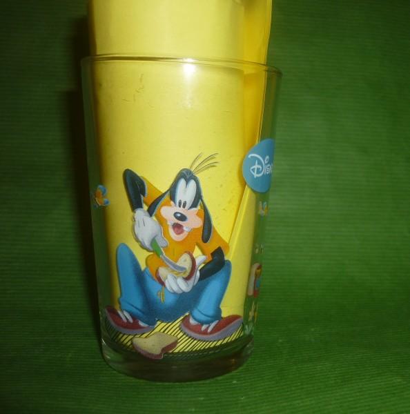 Löwen Senf Sammelglas Disney - Goofy, Micky Maus, Donald Duck