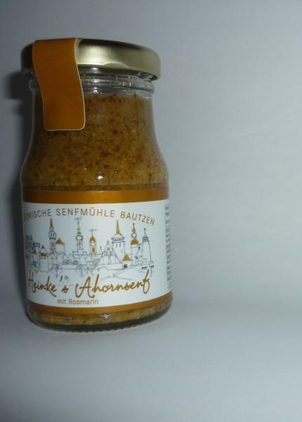 HammerMühle Bautzen AHORN Rosmarin Senf halbgrob 100 ml