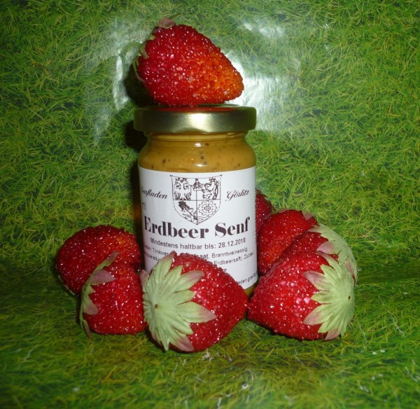 Erdbeer Senf 100ml