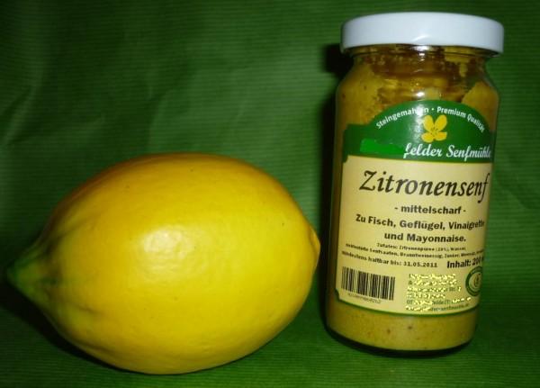 Zitronen Senf 190ml vegan