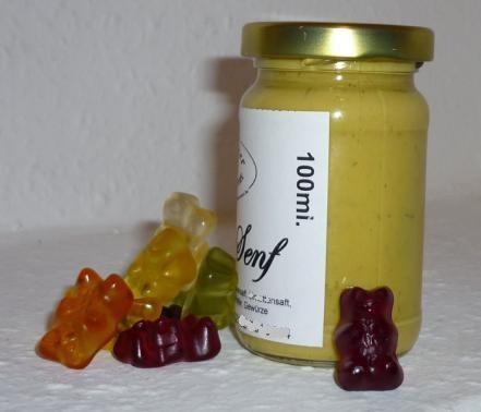 Kinder Gummibärchen Senf 100 ml lieblich fruchtig