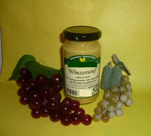 Winzer Senf 190ml vegan