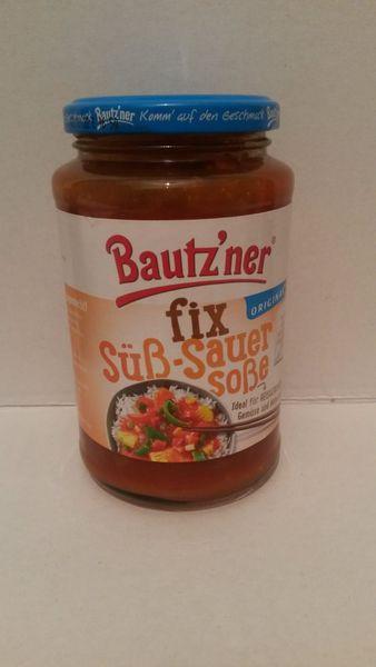 Bautzner süß - sauer Soße fix + fertig für Reisgerichte 400ml