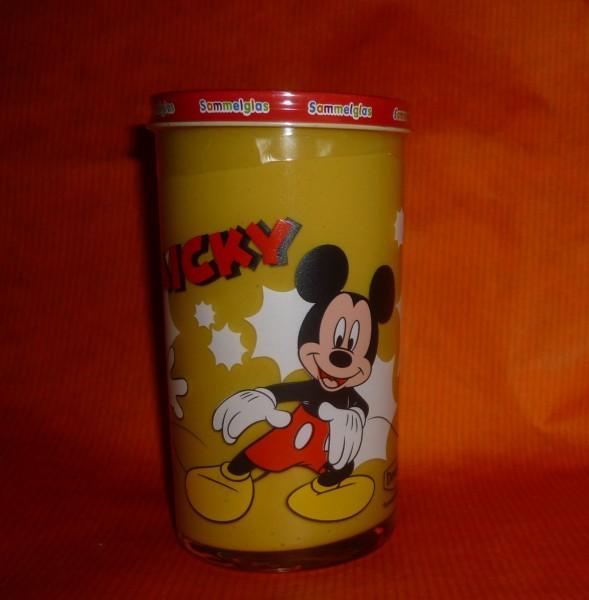 Bautzner KinderSenf Micky Maus Disney Sammelglas