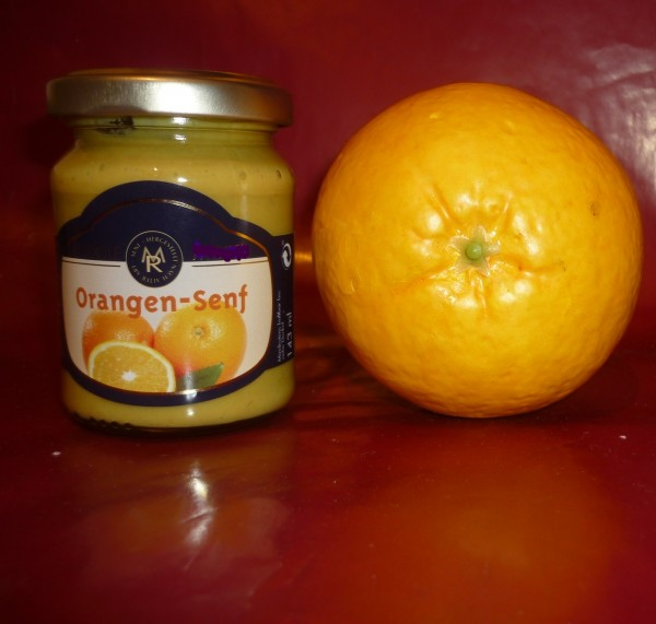 Orangen Senf 143ml fruchtig süß