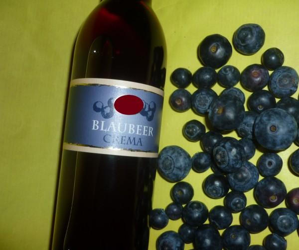 Essig - Blaubeer Crema vegan 250ml 3% Säure - Geschenkidee