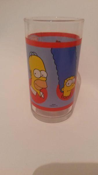 Simpsons Familie Sammelglas Trinkglas- Hengstenberg Senf