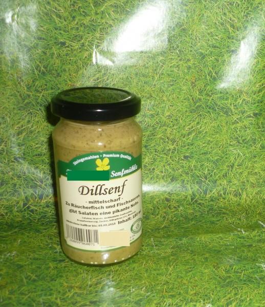 Dill Senf 190ml vegan