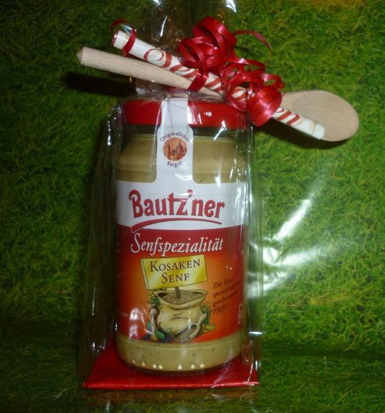 Bautzner Kosaken Senf 200ml - Geschenkverpackung