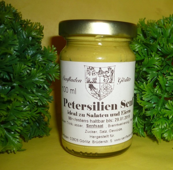 Petersilien Senf 100ml
