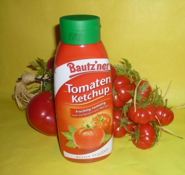 Bautzner Tomaten Ketchup 450ml i.d. Quetschflasche vegan