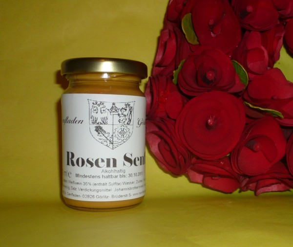Rosen Senf 100ml mit Rosenöl