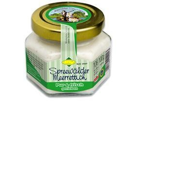 Meerrettich PUR 100g Spreewald - vegan frisch