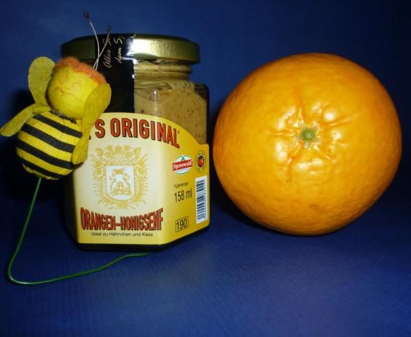 Orangen Honig Senf Spreewald 170ml frische Säure