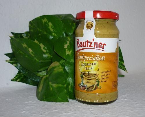 Bautzner Senf Kremser 200ml - süß - pikant -vegan