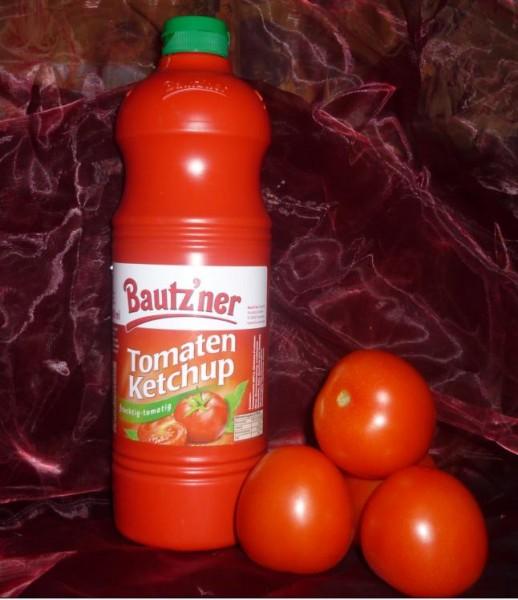Bautzner Tomaten Ketchup 1000ml Quetschflasche Squeeze