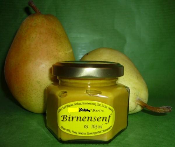 Birnen Senf 105ml