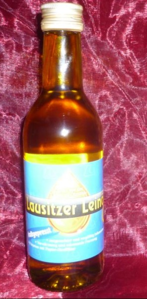 Öl - LeinÖl Lausitzer kaltgepresst 250 ml - Sachsen -