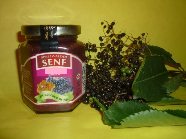 Holunder - Honig Senf Spreewald 170ml