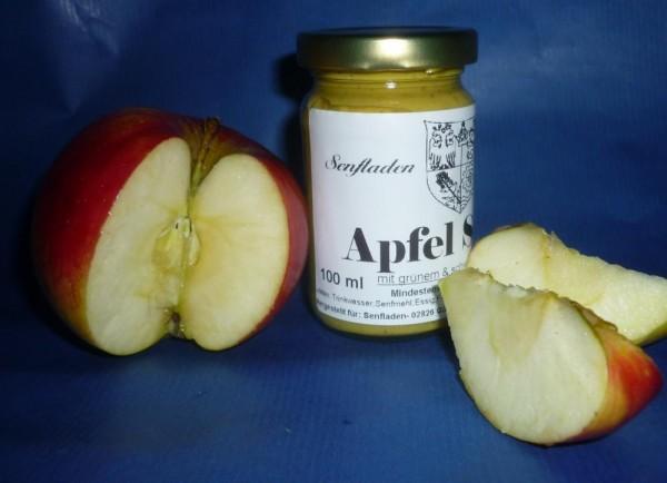 ApfelSenf mit grünem + schwarzem Pfeffer 100ml