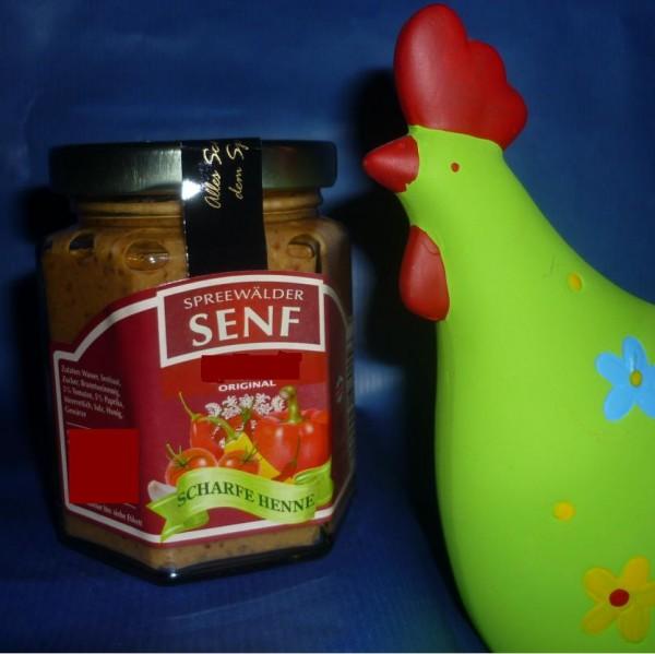 scharfe Henne - Spreewald Senf 170ml