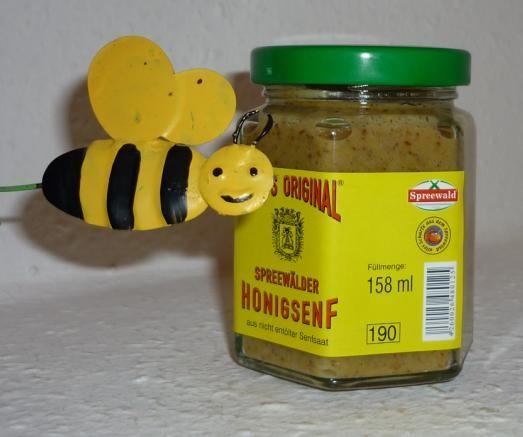 Honig Senf süß Spreewald 170 ml