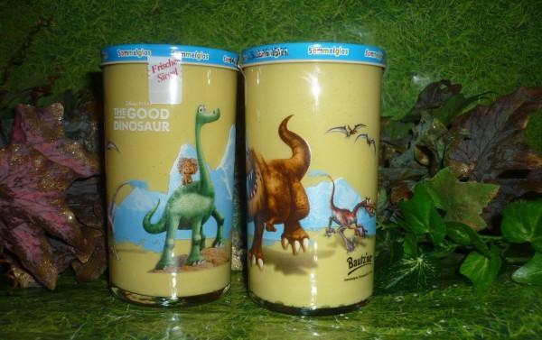 Bautzner KinderSenf DINO Dinosaurier Sammelglas 1