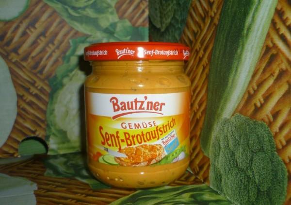 Bautzner Senf - Brotaufstrich 200ml -Gemüse -