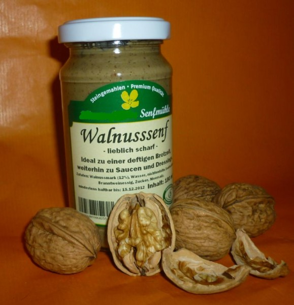 Walnuss Senf 190ml vegan