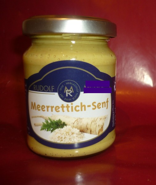 Meerrettich Senf 143ml - Kren