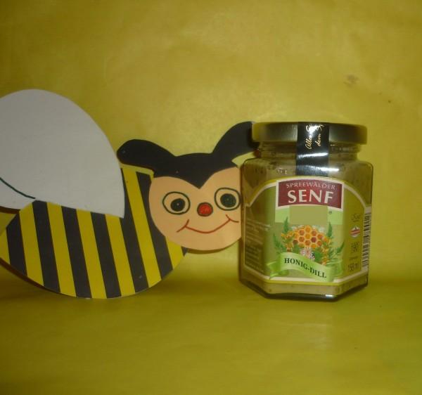 Honig Dill Senf würzig süß 158ml Spreewald