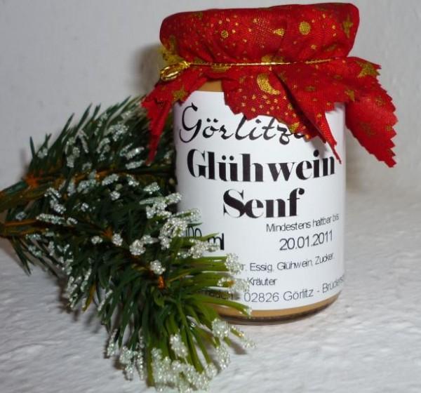 Görlitzer weihnachtl. Glühwein Senf 100ml